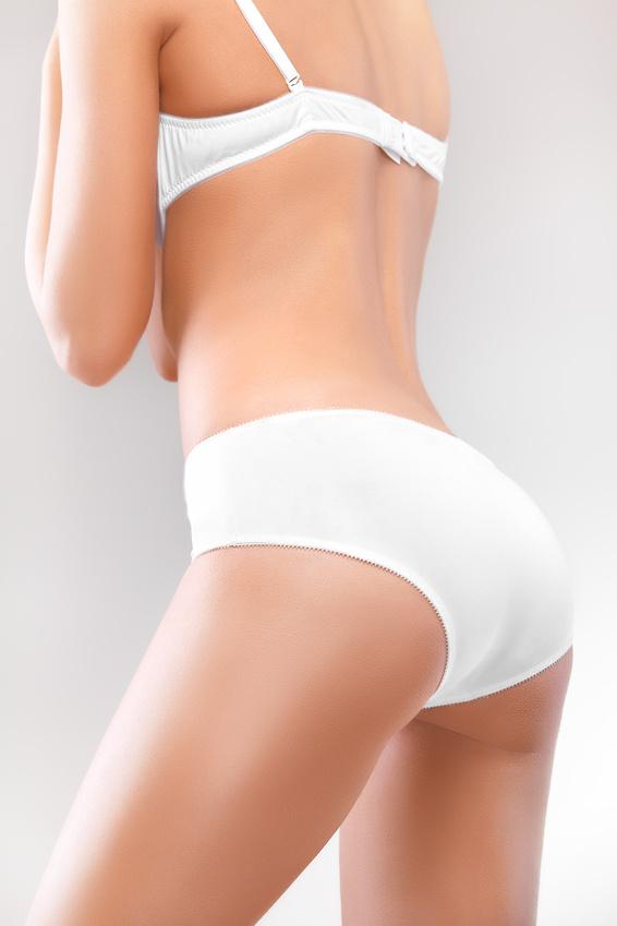 Perfect female body. Beautiful Woman in underwear