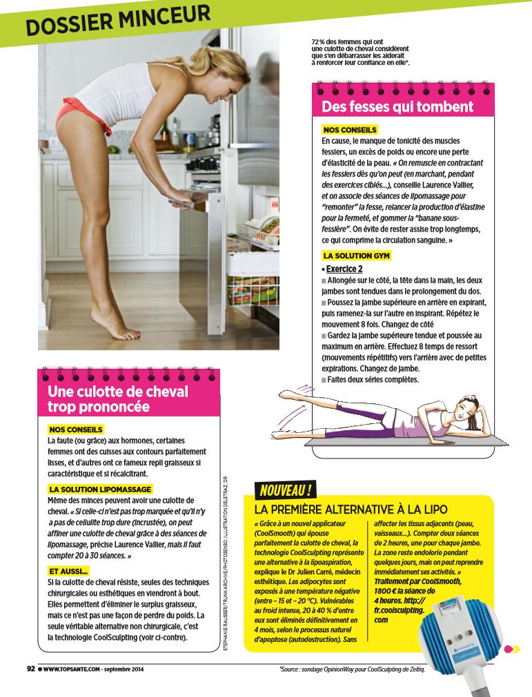 Top Santé aout 2014